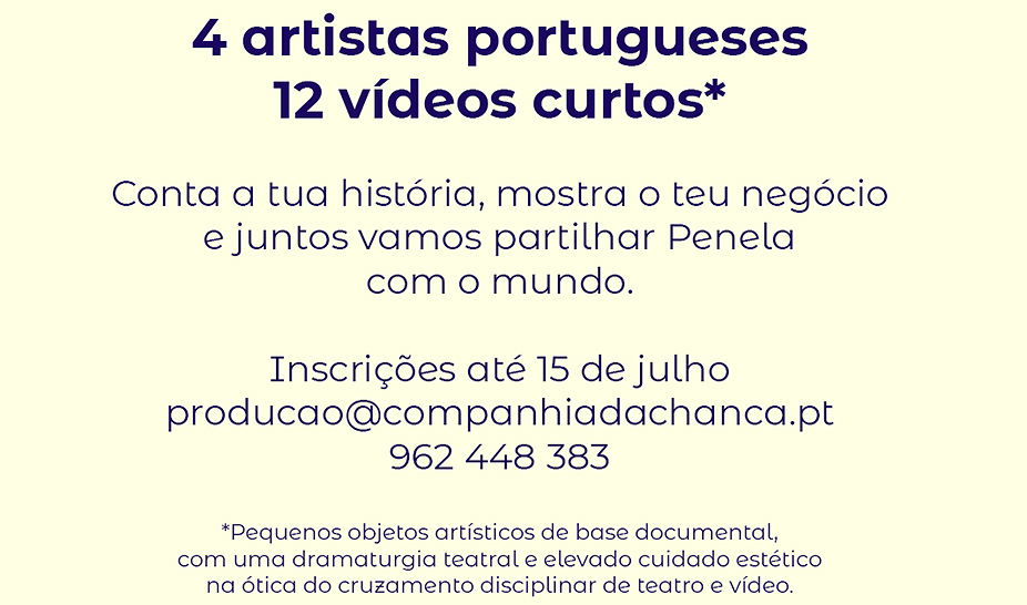 "OPEN CALL - ""As Gentes e os Gestos"""
